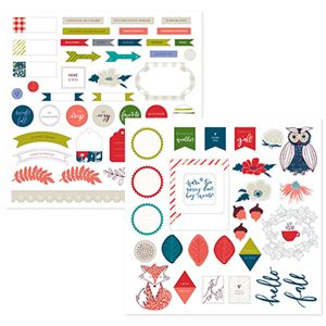 Picture of Happy Life Stackable Stickers
